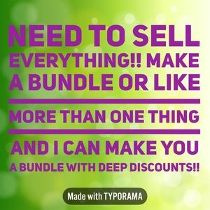 Deep discounts!!